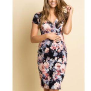 NWT pinkblush maternity dress- size Medium